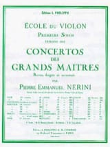 Giovanni Battista Viotti - 1st Solo of the Nerini Concerto n ° 14 - Sheet Music - di-arezzo.co.uk