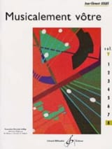 Musicalement Vôtre Volume 8 Jean-Clément Jollet laflutedepan.com