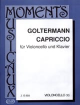 Georg Goltermann - capriccio - Partitura - di-arezzo.it