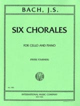 BACH - 6 Choirs - Sheet Music - di-arezzo.com