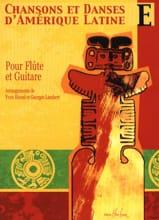 Chansons et danses d'Amérique latine - Volume E - laflutedepan.com