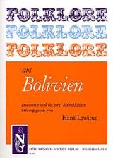 Folklore aus Bolivien - 2 Flûtes à Bec Alto laflutedepan.com