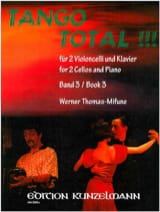 Werner Thomas-Mifune - Tango Total - Volume 3 - Partition - di-arezzo.fr