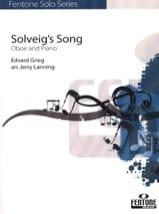 Solveig's Song – Hautbois & Piano - Edvard Grieg - laflutedepan.com