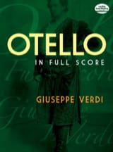 Otello - Full Score VERDI Partition Grand format - laflutedepan.com