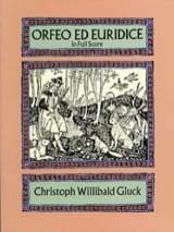 GLUCK - Orfeo - Euridice - Full Score - Sheet Music - di-arezzo.co.uk