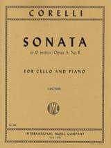 Sonate en ré mineur, op. 5 n° 8 Arcangelo Corelli laflutedepan.com