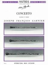 Concerto pour Hautbois Joseph-François Garnier laflutedepan.com