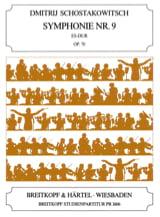 Symphonie N°9 Mib Maj. Op.70 - Conducteur laflutedepan.com