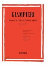 Alamiro Giampieri - Raccolta di esercizi e studi – Clarinetto - Partition - di-arezzo.fr