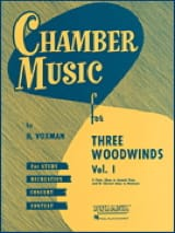 - Chamber Music for 3 Woodwinds Vol 1 - Sheet Music - di-arezzo.co.uk