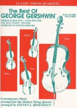 George Gershwin - The Best Of George Gershwin – String Quartet - Partition - di-arezzo.fr