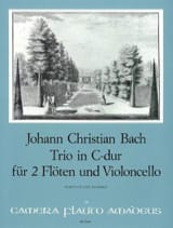 Trio C-Dur -2 Flöten Violoncello - Partitur + Stimmen laflutedepan.com