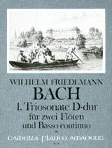 Triosonate Nr. 1 D-Dur -2 Flöten Bc laflutedepan
