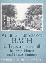 Triosonate Nr. 3 a-moll -2 Flöten Bc laflutedepan