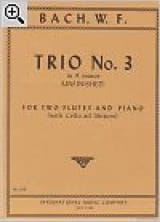 Trio n° 3 in A minor – 2 Flutes piano - laflutedepan.com