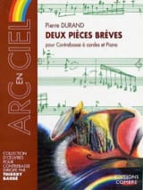 2 Pièces brèves - Pierre Durand - Partition - laflutedepan.com