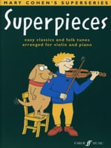 Superpieces Mary Cohen Partition Violon - laflutedepan.com