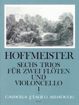 Franz Anton Hoffmeister - 6 Trios op. 31 - Bd. 1: Nr. 1-3 - 2 Flöten Violoncello - Sheet Music - di-arezzo.com