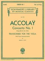 Concerto n° 1 Transcr. Alto Jean-Baptiste ACCOLAY laflutedepan.com