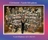 L' Orchestre - Puzzle 500 Pièces Puzzle Partition laflutedepan.com