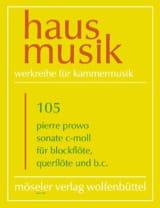 Johann Christoph Schultze - Sonate – Blockflöte, Querflöte und B.C. - Partition - di-arezzo.fr