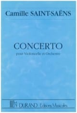 Camille Saint-Saëns - Cello Concerto No. 1 op. 33 - Driver - Sheet Music - di-arezzo.co.uk