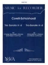Trio Sonata in d-moll -2 Altblockflöten Bc laflutedepan.com