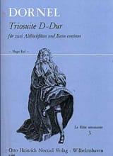 Antoine Dornel - Triosuite D-Dur - 2 Altblockflöten und Bc - Partitura - di-arezzo.it