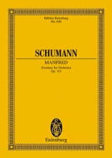 SCHUMANN - Manfred, Ouverture, Opus 115 - Partition - di-arezzo.fr