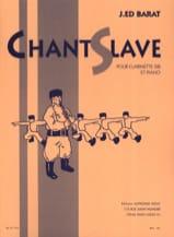 Chant slave Joseph-Edouard BARAT Partition laflutedepan.com