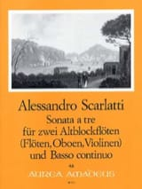 Sonata a tre - 2 Altblockflöten Bc laflutedepan.com
