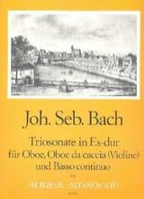 BACH - Triosonate Es-Dur –Oboe Oboe da caccia u. BC - Partition - di-arezzo.fr
