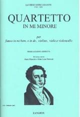 Saverio Mercadante - Quartetto in mi minore - Flute violin viola violoncello - Sheet Music - di-arezzo.co.uk