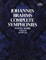 BRAHMS - Complete Symphonies - Full Score - Sheet Music - di-arezzo.co.uk