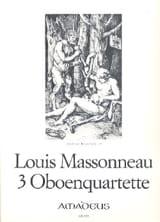 3 Oboenquartette - Oboe Violine Viola Cello - Stimmen laflutedepan.com