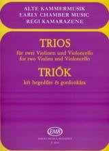 Trios für Violinen und Violoncello laflutedepan.com