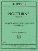 Nocturne, Op. 19 - Flûte-Violon-Cor Ou Cello-Piano laflutedepan.com