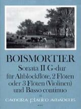 Sonata Nr. 2 G-Dur -Altblockflöte 2 Flöten u. BC laflutedepan.com