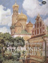 TCHAIKOVSKY - Symphonies N ° 1, 2 and 3 - Sheet Music - di-arezzo.com