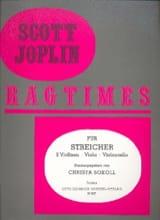 Scott Joplin - Ragtimes für Streicher - Quartett - Partition - di-arezzo.fr
