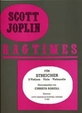 Ragtimes für Streicher - Quartett Scott Joplin laflutedepan.com