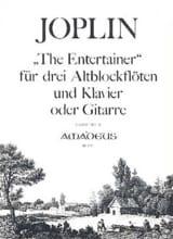 The Entertainer –3 Altblockflöten Klavier (o. Gitarre) - laflutedepan.com