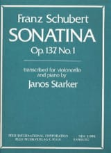 SCHUBERT - Sonatina op. 137 No. 1 transcr. - Sheet Music - di-arezzo.co.uk