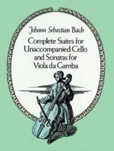 Complete Suites for unac. Cello and Sonatas for Viola da Gamba - Full Score - laflutedepan.com