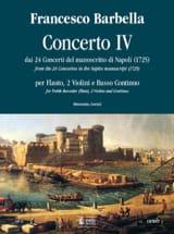 Concerto 4 -flauto, 2 violini e bc laflutedepan.com
