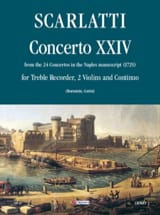 Concerto 24 -Flauto 2 violoni e bc laflutedepan.com