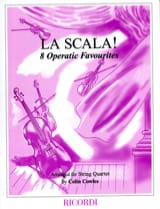 La Scala ! - String quartet Colin Cowles Partition laflutedepan.com