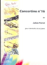 Julien Porret - Concertino n° 16 - Partition - di-arezzo.fr