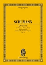 SCHUMANN - Quintett Es-Dur, Op. 44 - Driver - Sheet Music - di-arezzo.co.uk
